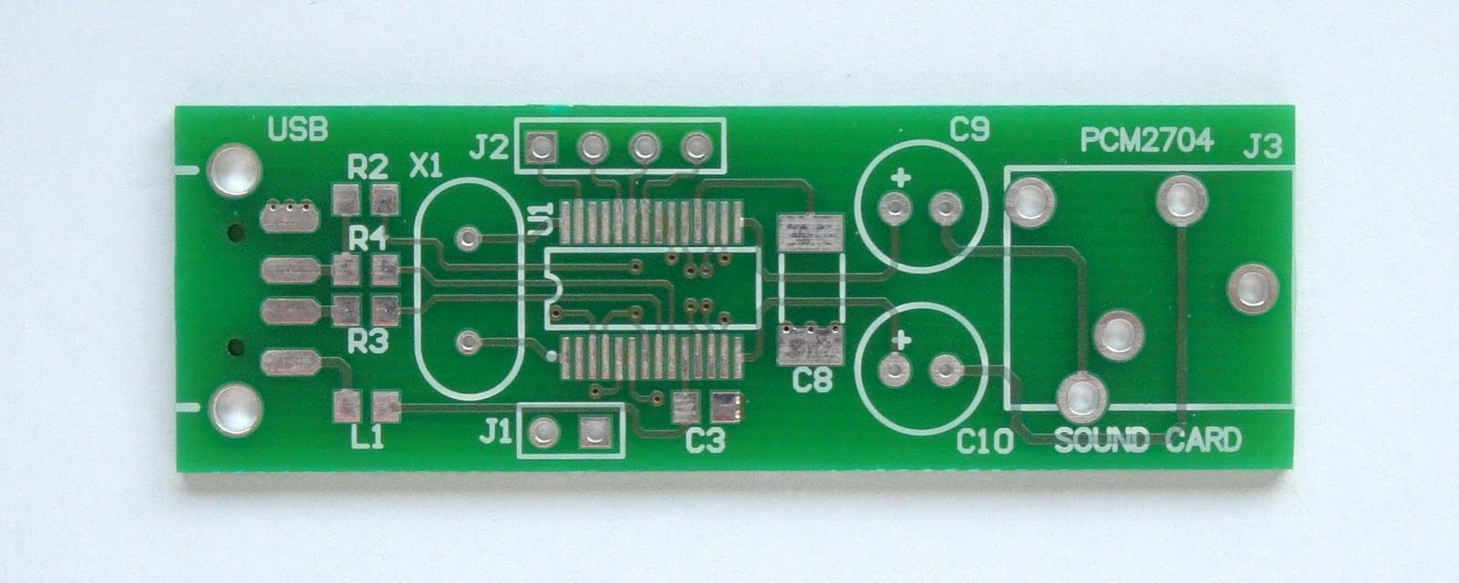 Make A Sound Card With Pcm2704 Stereo Fm Transmitter Ba1404