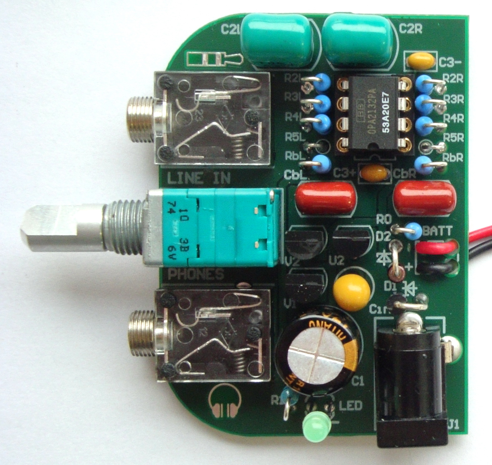 Hifi Headphone Amplifier
