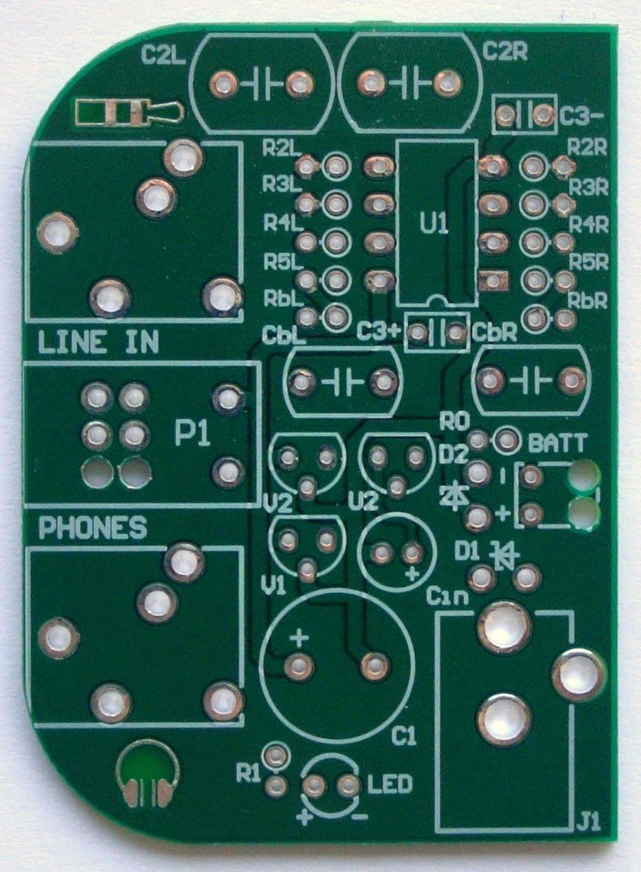 HiFI Headphone Amplifier