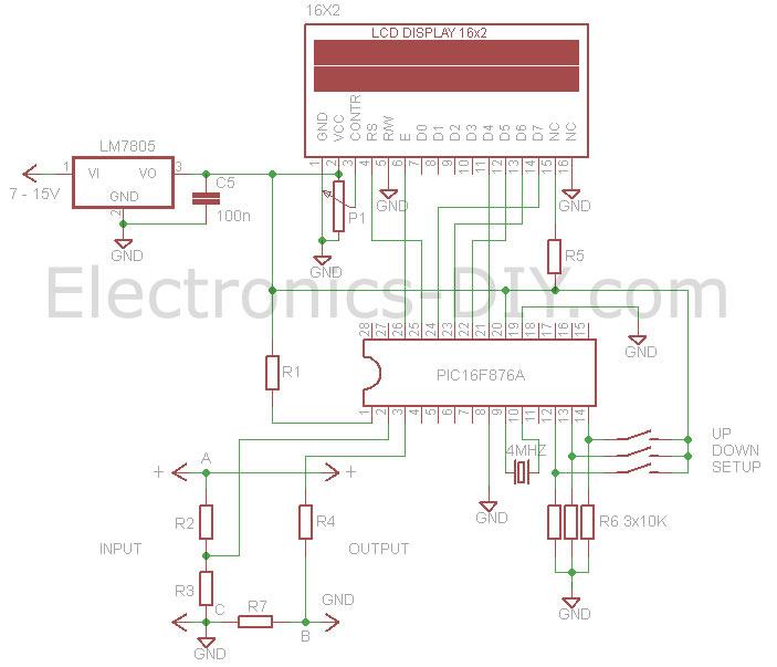 Circuit Lake5w Vhf Tv Transmitter Microcontroller Project Circuit