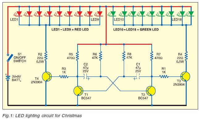 Lighting For Christmas – Led Wire Diagram Christmas 25