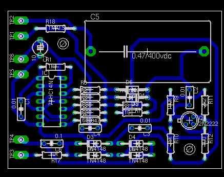 Full-wave bridge rectifier with capacitor filter and ripple voltage
