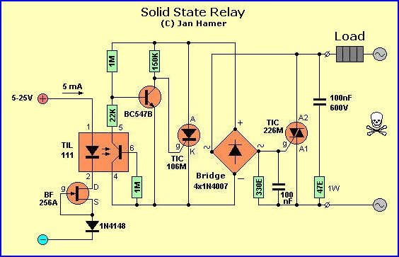 solidstate state relays ssr relay wiring diagram at virtualis.co