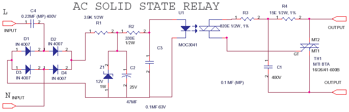 ACAC Solid State Relay or SSR