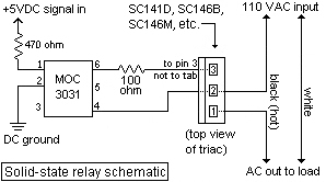 Switching 110VAC Relays vs Solid State