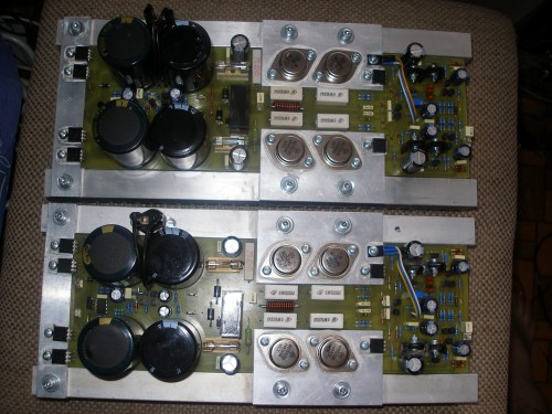 The Circuit Was Intended To Create A Small Power Amplifier For Audio
