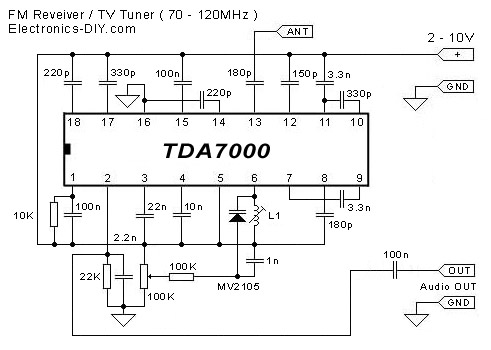Radio Circuits Single Transistor Fm additionally Simple Fm Transmitter besides Single Chip Fm Radio Circuit as well Viewtopic also Audio Power  lifier Circuit Based On Tda4920 Tda4925 Tda4930. on am fm tda ic radio schematic