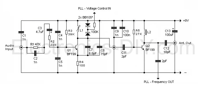 TX-200 - 200mW FM Transmitter