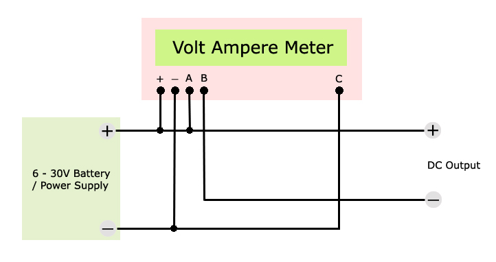 volt ampere meter wiring diagram same supply voltmeter ammeter ac amp meter wiring diagram at crackthecode.co