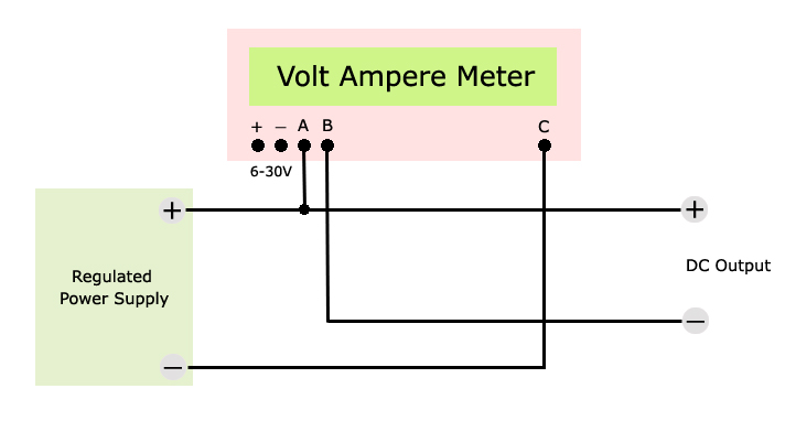 volt ampere meter wiring diagram voltmeter ammeter auto amp meter wiring diagram at cos-gaming.co
