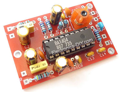 electronics diy quality electronic kits, electronic projectsba1404 based transmitter is an exciting product that will broadcast high quality stereo signal in 88mhz 108mhz fm band it can be connected to any type of