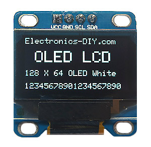 128x64 OLED Display