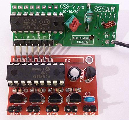 4 channel rf remote control circuit diagram 4 4 ch rf remote control on 4 channel rf remote control circuit diagram