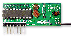4-Channel 433MHz Wireless RF Receiver