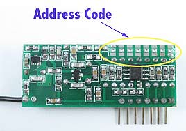 RF Remote Control Receiver