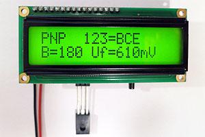 ESR Meter / Transistor Tester Kit