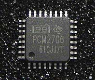 PCM2706 - 98dB SNR Stereo USB 2.0 DAC with line-out and S/PDIF output, Bus/Self-powered (I2S)