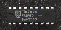 TDA7000 - Single Chip FM Receiver