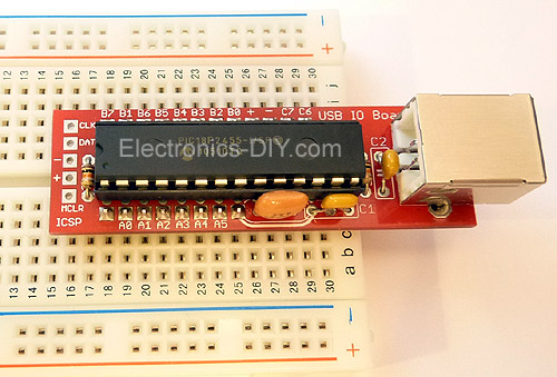 USB Thermometer Kit with Data Logger