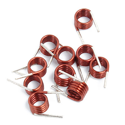3 5 Turns Rf Air Coil Inductor Electronics Diy Com