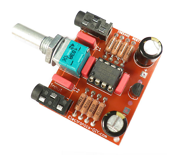 Audiophile Headphone Amplifier Kit