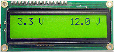 Dual Channel Voltmeter Kit