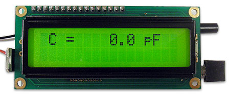 Special Edition Accurate LC Meter Kit with Blue Backlight LCD - <font color=green>FREE CASE</font>