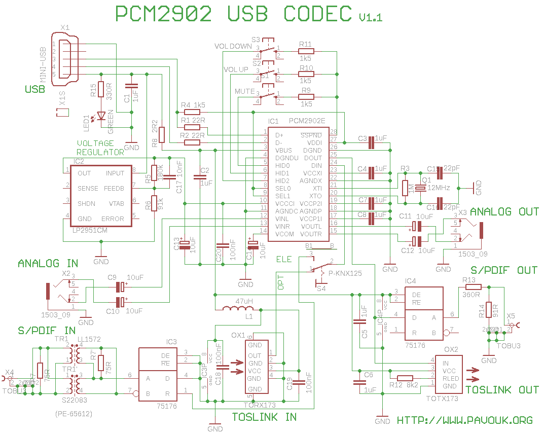Usb Sound Card With Pcm2902 Circuit Besides Lc Meter Further Capacitor In Esr