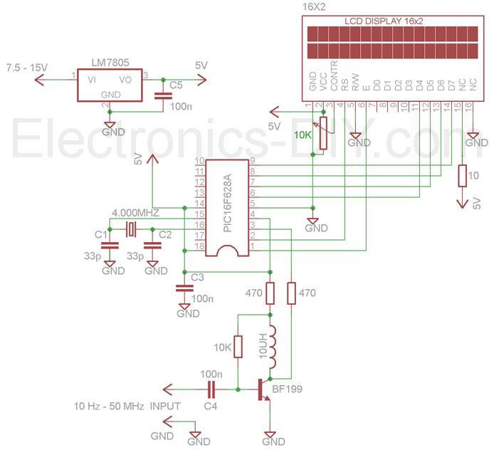 Frequency Meter / Frequency Counter 10Hz-60MHz on counter schematic 74190 pin, digital electronics, counter circuit design, counter with sensor circuit, wiring diagram, one-line diagram, pulse counter schematic, counter coil schematic, counter schematic 3 stage, circuit design, 2-digit counter schematic, down counter schematic, counter circuit breadboard, function block diagram, decade counter schematic, digital counter schematic, counter circuit layout, counter chip schematic, integrated circuit layout, network analysis, block diagram, freq counter schematic,