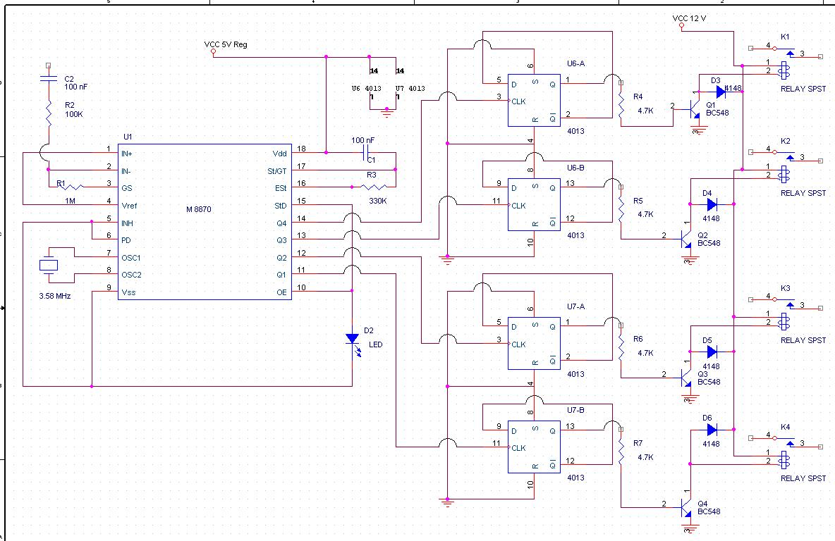 Go Look Importantbook Controlling Electronic Device So Do Count 555 Timer In Monostable Mode Circuit Diagram Electronicshuborg Radio Remote Control Using Dtmf