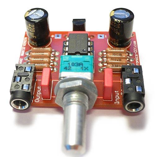 Audiophile Headphone Amplifier Kit - Electronics-DIY com